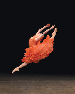 Gillian Murphy de l'American Ballet Theatre dans 'Don Quichotte'. Photo de Rosalie O'Connor.