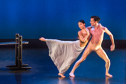 Xin Ying et Jacob Larsen dans «Maple Leaf Rag» de Martha Graham. Photo de Brigid Pierce.