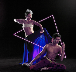 Raina Peterson et Govind Pillai de Karma Dance.